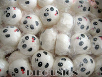 kawaii squishy panda großhandel-Großhandel Kawaii Panda Paar Brötchen Set (4-10cm) Squishy Charme / Squishies / Schlüsselanhänger / Handy
