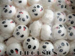 Conjunto al por mayor del bollo de los pares de la panda de Kawaii (4-10cm) encanto squishy / Squishies / cadena dominante / teléfono móvil