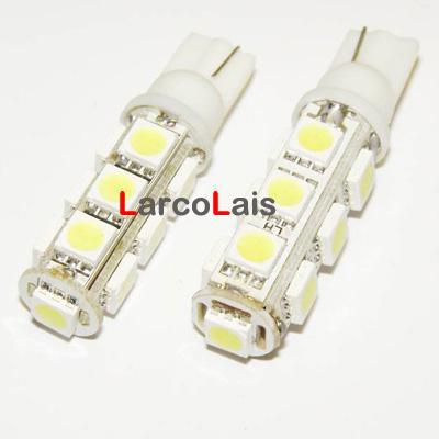 T10 13 SMD 5050 3Chips Lâmpada LED 194 168 W5W 13LED Llight Luzes Da Lâmpada 184 192 193 259 280