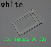 Beaucoup de 100 Pcs Blanc Carte SIM Slot Tray pour Apple iPhone 3G 3GS