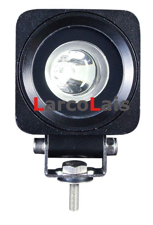10w LED-arbetslampa Bulb Offroad 12V 24V 10-30V Bilbil ATV Spot Flood Working Lights