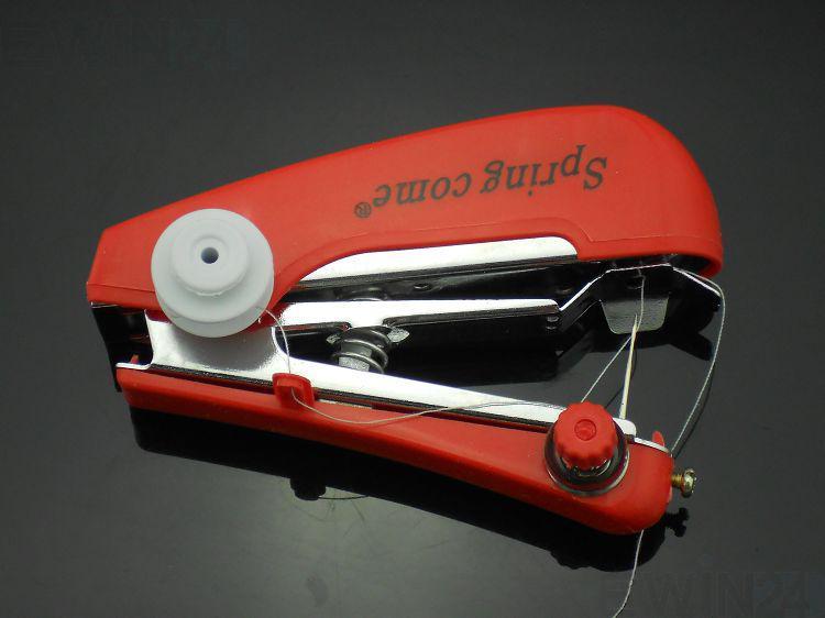 Ny snabb handhållen bärbar mini Handy Sartorius Symaskin Sy Billiga Pris / Massor Gratis frakt