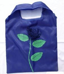 2019 wasserdichte unterwäsche Beste Übereinstimmung 10Pcs nette faltbare Einkaufsnylon-Rosen-Tasche Eco wiederverwendbare bereiten Beutel auf