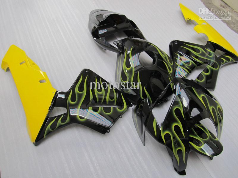 Högkvalitativa injektionsform ABS Fairings för CBR600RR 2005 2006 CBR 600RR CBR600 F5 05 06 Body Repair Fairing Kit