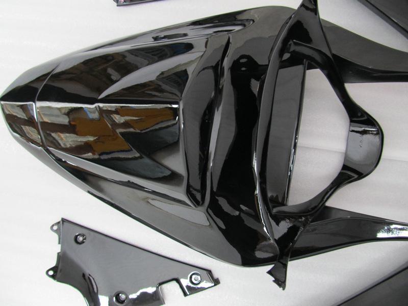Golss Black Wording na 2003 2004 SUZUKI GSX-R1000 Brand New Body Kit GXSR1000 03 04 GSXR 1000 Wysokiej jakości szyba przednia