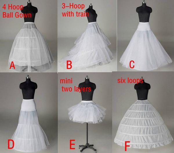 Tulle Ball Gown Petticoat For – fashion dresses