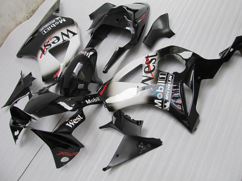 고품질 ABS 플라스틱 CBR900RR 954 용 페어링 키트 CBR CBR954RR CBR954 2002 2003 02 03 도로 레이싱 페어링 키트