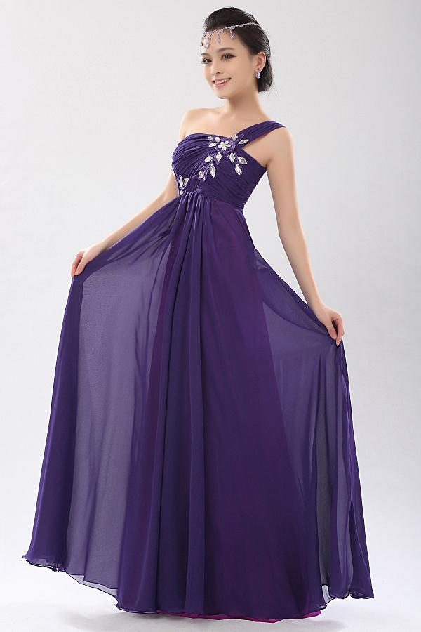 Purple dresses for prom