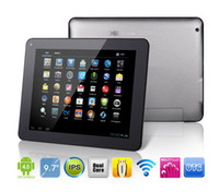 9.7 Inch Android 4.0 Tablet PC Ramos W22PRO Amlogic Cortex A9 Dual Core 1.5GHz 1GB RAM 16GB Webcam