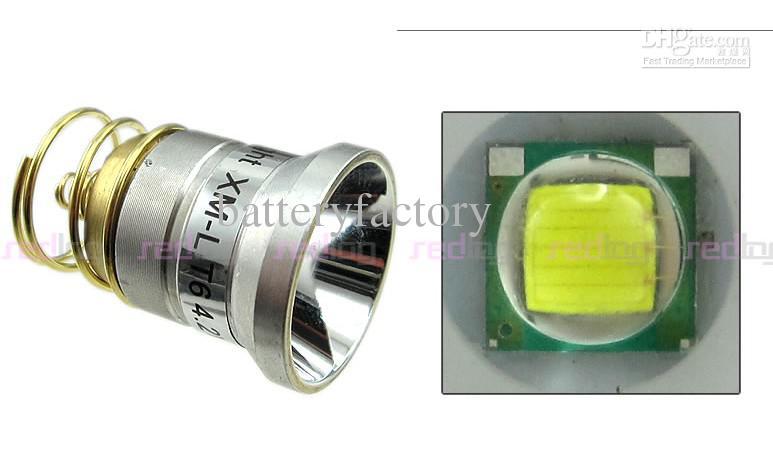 1 개 Ultratfire WF-502B 토치 5 모드 1000 루멘 크리 XM-L T6 LED 손전등 18650 배터리 토치