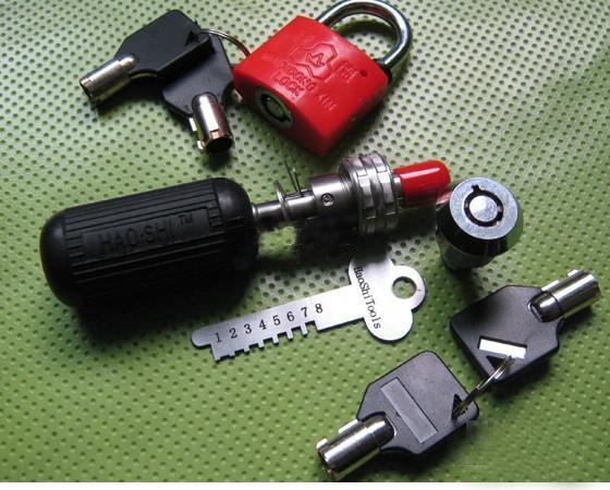 Venda quente multifuncional Tubular Manipulação Ajustável Lock Pick 7.3 7.5 7.8 7.9 pin