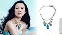 Wholesale Baroque Style Necklace - Vintage Jewelry Baroque-style jewelry necklace Pendant Necklace