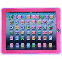 Wholesale Touch Screen Notebook Computers - Hot Wholesale YS2911c Y-PAD English Tablet Computer Children Learning Machine Touch Screen Kid's Educational Toys Music+Led