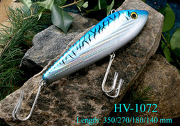 Wholesale Deep Lures - 18cm 145g Big Fishing Lure Vibration Bait Hard Plastic Baits Deep Sea Bait China Hook Snking type