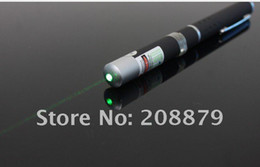 Wholesale Efit Lasers - Wholesale - 80pcs 5mW 532nm Green light Beam Laser Pointer Pen efit SOS Mounting Night Hunting teaching Xmas gift LOTS