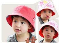Wholesale Infant Fedora Hats - baby fedora hats kids linen hemp jazz cap children autumn top hat baby sun caps topee infant fedoras