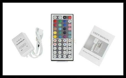 5M Flexível RGB LED Faixa de 16ft 5050 SMD 5M 300 LEDs com 44key REMOTO IR Controlador
