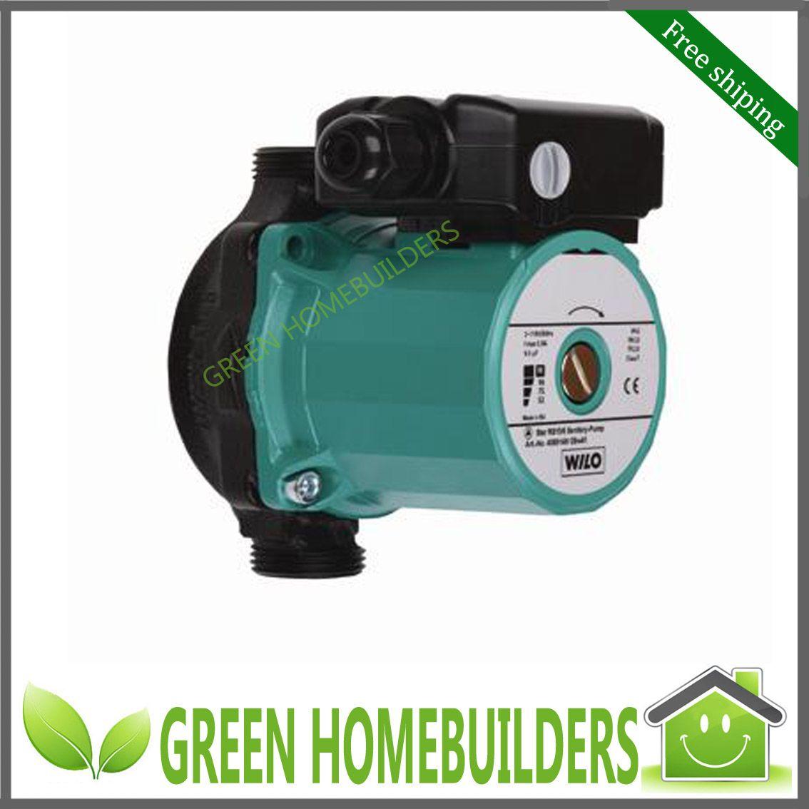 Heater Pump 2017 Dhl Free 220v 50hz Hot Water Heater Circulation Wet