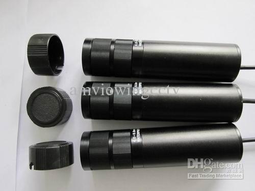 Gratis frakt DHL / EMS / Aramex. 650TVL Låg Lux kvalitet 4-9mm Vattentät Varifokal Bullet CCD-kamera