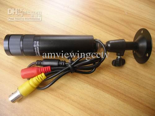 Frete grátis DHL / EMS / ARAMEX. 650TVL baixa lux qualidade 4-9mm à prova d 'água varifocal bullet câmera CCD