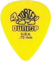 Gros morceau -72 Guitar Picks 73 mm jaunes Médiator Dunlop Tortex Guitare
