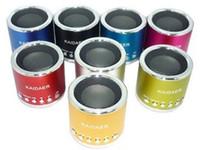 Wholesale Kaidaer Mini Speaker Wholesalers - KAIDAER KD-MN02 Multimedia Mini Speaker Music Micro SD Card FM Radio Speaker Loudspeaker WELL-KNOW SPEAKER