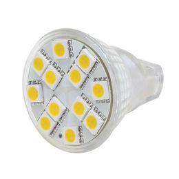 Wholesale 12 Volt Led Spotlights - SMD5050 12 LED MR11 Light Wide Volt AC DC10-30V 12V 24V Spot Lamp White Warm White
