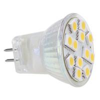Wholesale Dimmable Led Mr11 - Dimmable SMD5050 12 LED MR11 Light Wide Volt AC DC10-30V 12V 24V Spot Lamp White Warm White