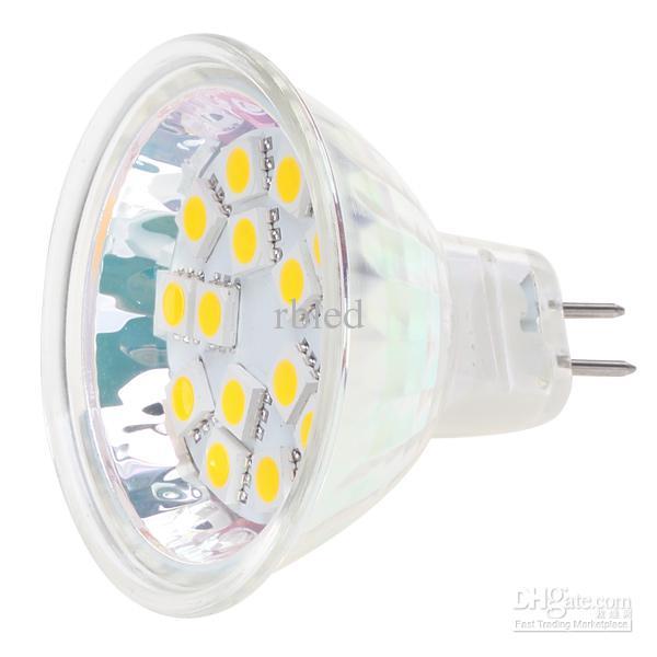 Dimmable 15led Mr16 G4 Base Light Lamp Ac/Dc10 30v 12v/24v White ...