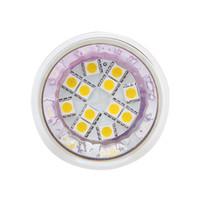 12v led açık beyaz toptan satış-12 LED MR16 Işık SMD 5050 AC / DC10-30V 12 V / 24 V Geniş Volt Beyaz Sıcak Beyaz Spot işık Aşağı lambası