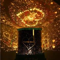 Wholesale Led Light Star Projector Lover - LED star master light star projector,Gifts led Lamp night light lover star master 1pcs free shipping