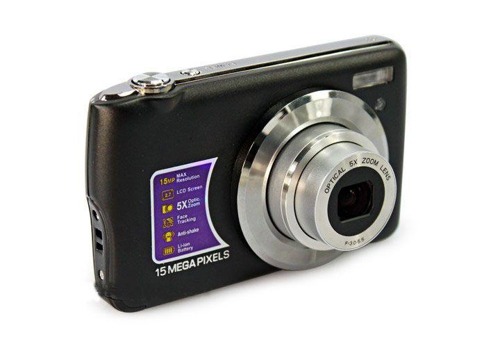 15 MP digital camera DC-5200 8.1MP CMOS 4X digital zoom 2.7 inch TFT LCD DC-600 10pcs
