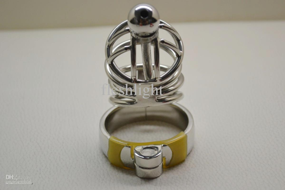 Stainless steel chastity devices, metal chastity device ,Probe chastity belt wholesale and retail