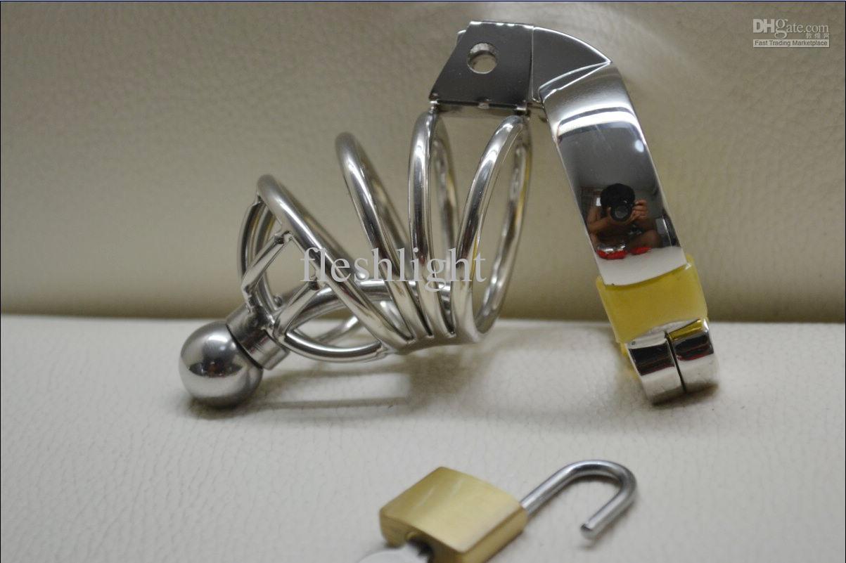 Edelstahl Keuschheitsvorrichtungen aus Metall Keuschheitsvorrichtung, Probe Keuschheitsgürtel Groß- und Kleinhandel