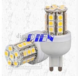G9 Lámpara de bombilla de maíz LED 5W 5050 SMD 27 LEDs 220V | 110V Lámpara de luz de ahorro de energía blanca fría / blanca cálida