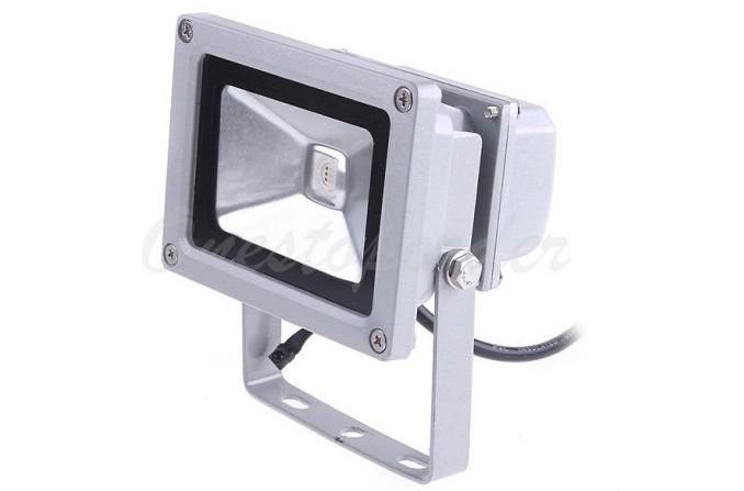 10W RGB Lampe dinondation LED Projecteur /étanche Lampe dinondation /étanche Lampe dinondation ext/érieure pour Jardin ext/érieur Jardin Pelouse AC85-265V Prise UE Lampe dinondation LED