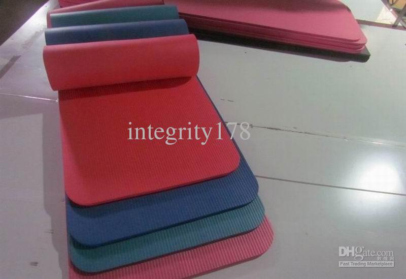NBR 173X61X1 cm tapetes de yoga, exercício de fitness, tapete de yoga ecológico multi cor, EMS frete grátis