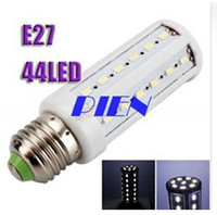 Wholesale E14 44 - Cheap 8W 5050 SMD 44 LEDs Corn Bulb Light E27| E14 B22 LED Lamp Cool White | Warm White 220V