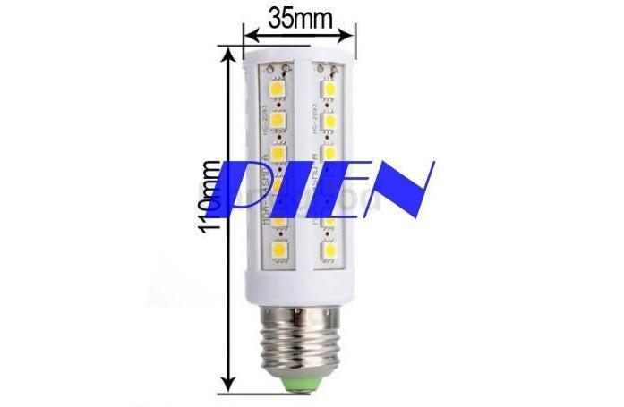 X100 8W 5050 SMD LED Bulb 44 LED Corn Bulb Light E27 E26 B22 E14 Home LED Lamp White Warm White Indoor Lighting 110V 120V 220V 240v By DHL