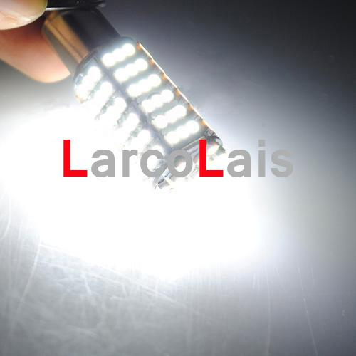Kampanj 120 SMD 3528 LED 1156 BA15S ren vit Vändningssignal LED Light Brake Park Bulb lampa