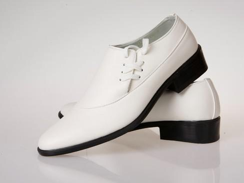 2012 pu leather white dress shoes men's casual shoes groom