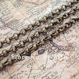 $enCountryForm.capitalKeyWord Canada - 10M lot 3.8MM Bronze Metal Chains Plated Special Chain Jewelry Findings Components