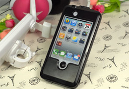 Wholesale New Iphone 4s Cases - Bike Bicycle Mount Holder Waterproof Stand Bracket Bicycle Case for iphone 4 4S New 5PCS Lot