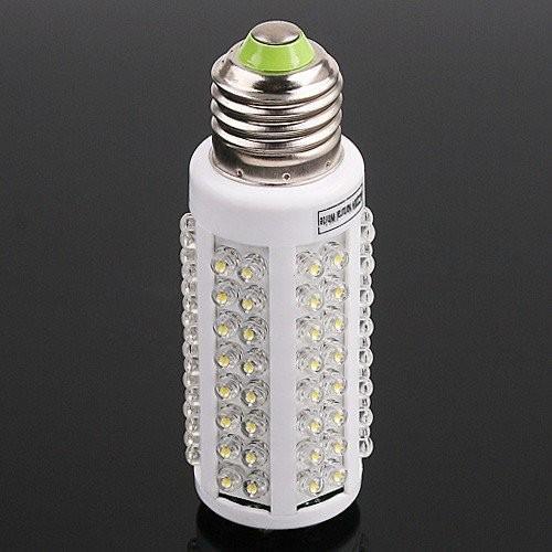 Goedkope Ultra Heldere LED-lamp 7W E27 220 V Koud Wit Licht LED-lamp met 108 LED 360 graden vleklicht