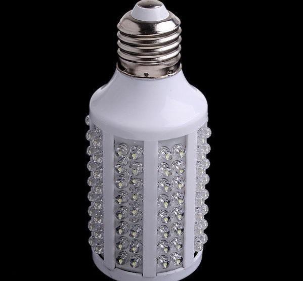 Goedkoop LED-maïsbol E27 720LM 220V / 110V 7W 166 LED-lamp Wit Spotlight 360 graden LED-verlichting