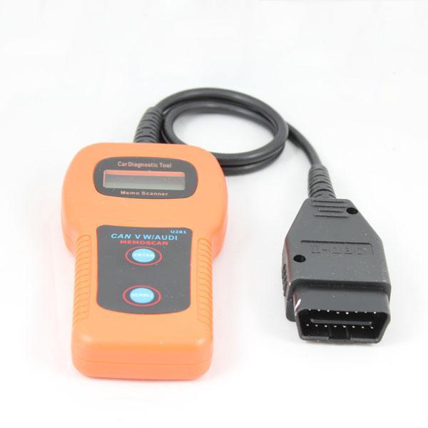VAG/VW/AUDI ABS SRS Engine Code Reader CAN-BUS Scanner U281 Car scanner
