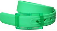 Wholesale Rubber Waistband - 1.5'' & 0.8'' Hot Unisex 21pcs colors waistband belt Silicone green rubber fragrance fashion