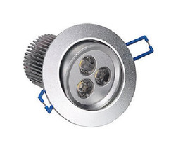 Wholesale Recessed Lighting Kits - 9Watt 3x3W LED Recessed Ceiling Fixture Down Light Kit Warm White Downlight 12V 10pcs