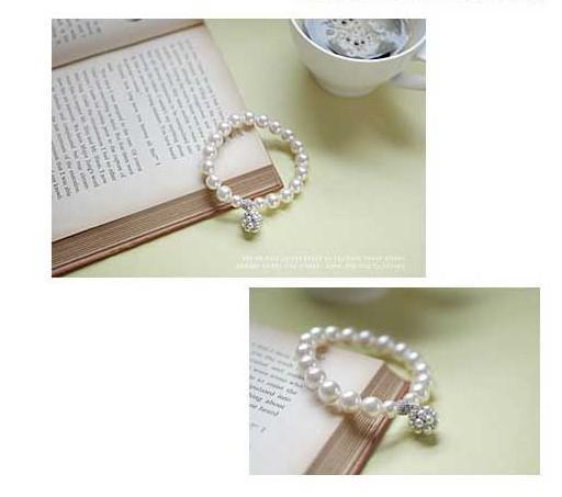 Bracelet de ballon de perles personnalisée chaude Coréenne Dame Sweet Ornements Bijoux Bijoux Brocelets Bracelets Perles Bracelets 325