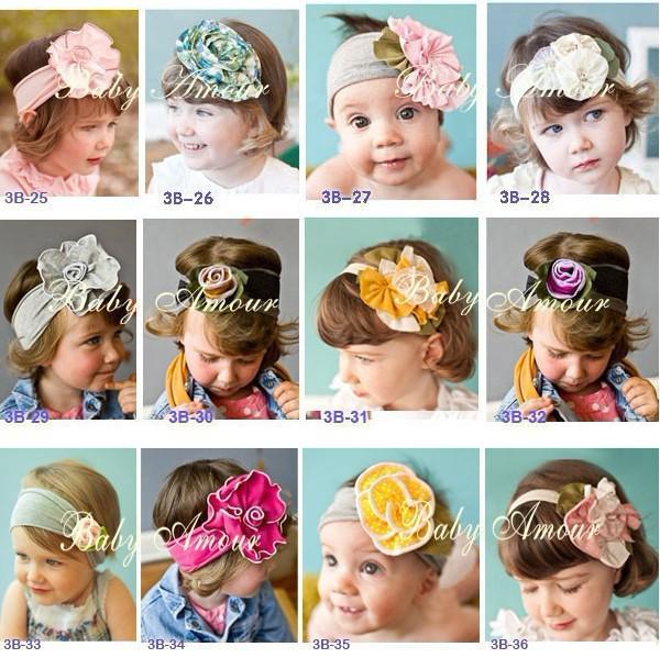 Einzelhandel Stirnband-Säuglingskleinkind neugeborene Mädchen-Hauptband-Oberseiten-Baby-Baby-Hüte Mädchen-Jungen-Hut-Stirnband Fashion Cap